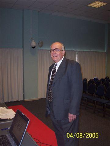 Técnico prevencionista SERGIO BAZZI
